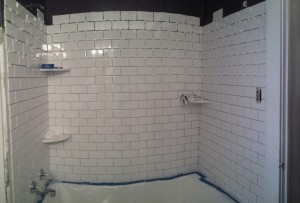 March 2014 Bathroom Tiling