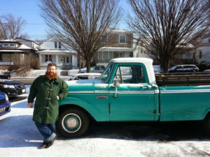 Chip and 1965 Ford F100