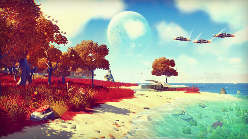 No Man's Sky Press Release Screenshot